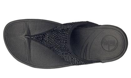 9a7d445abd92d Fitflop Womens Rokkit Black Diamond Fitness Sandal  Fitflop-00171 ...